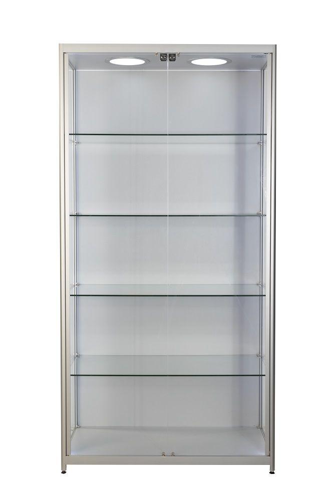 prestige aluminium cabinet k1000 with cupboard. Black Bedroom Furniture Sets. Home Design Ideas