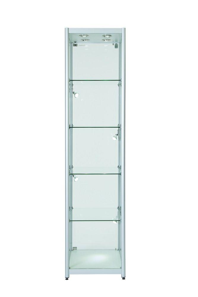Glass Cabinet Aluminium Single Door Various Colours Sizes