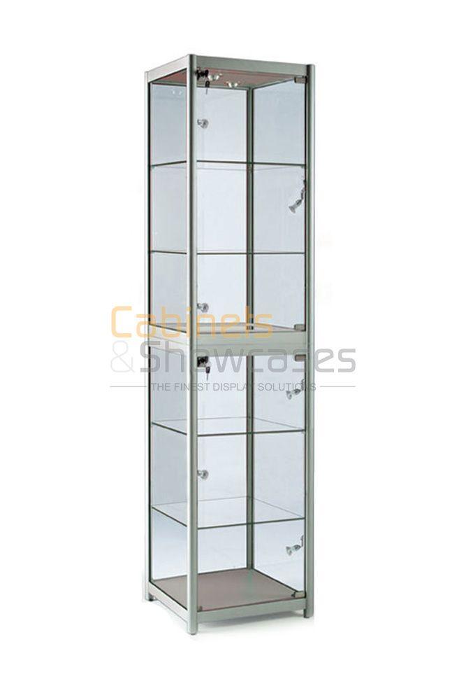 Portable Exhibition Cabinet : Portable folding exhibition display cabinet