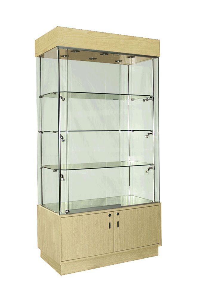 Wooden Display Cabinet Zoomview
